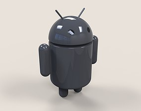 Android logo 3D