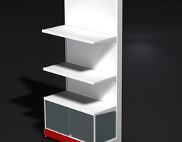 Big store stand 3D