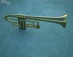 3D asset Trumpet