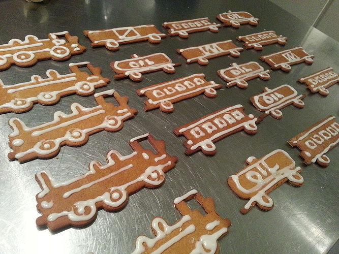 train set cookie cutters 3d model stl stp 1
