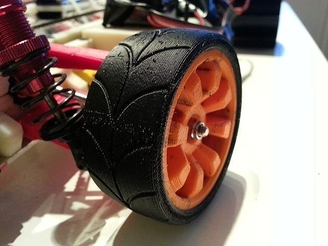 openrc experimental wheel dualstrusion 3d model stl stp 1