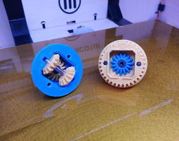 3D printable model OpenRC RC Differential
