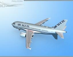 rigged Falcon3D A319 Air South