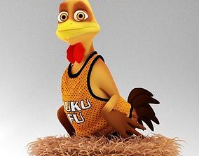 3D model Stylized Chicken