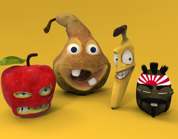 Funny Fruits 3D