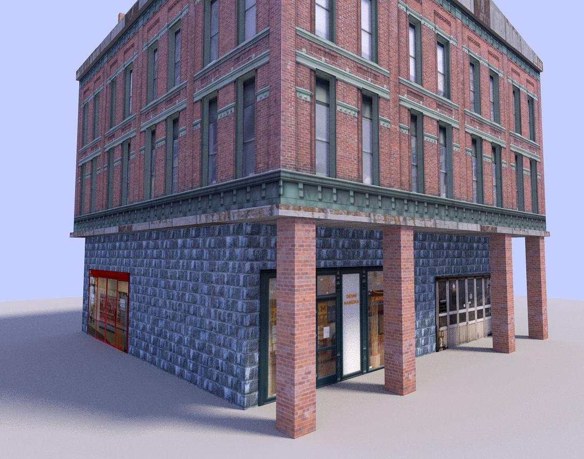 big city building | 3D model