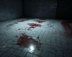 30 blood decals 3d