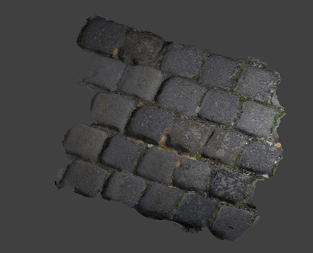 tiles photoscaned 3d model low-poly obj 3ds fbx blend dae 1