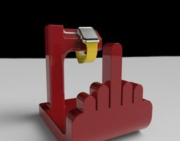 f off watch holder 3d printable model