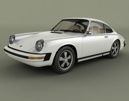 Porsche 911 1974 3D