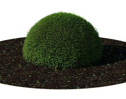3D model Bush A Round