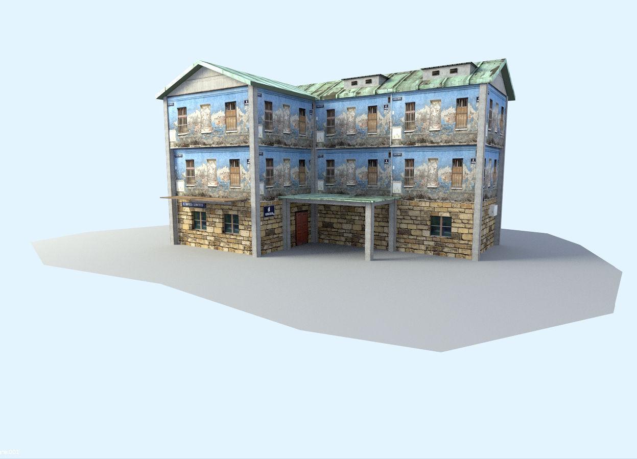 Building | 3D model
