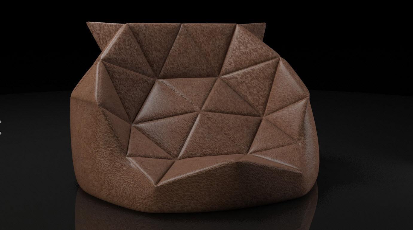 Bean Bag Sofa 3d Model Free Download