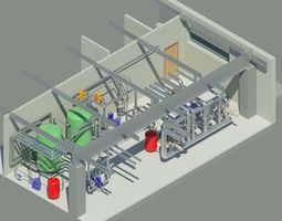 Cold Source of Airport Revit Model