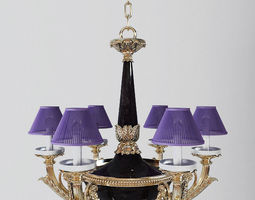 Antique Chandelier 2 3D model