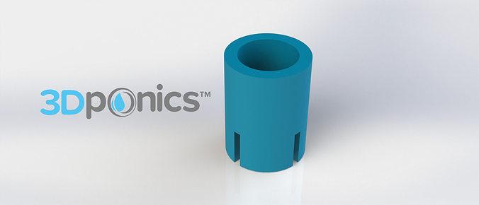 air lock - 3dponics open-source gardening 3d model obj mtl stl sldprt sldasm slddrw 1