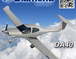 3D asset Diamond DA-40