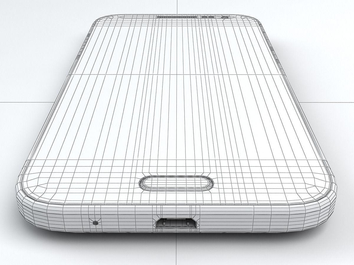 Samsung Galaxy Core Prime 3D Model MAX OBJ 3DS FBX