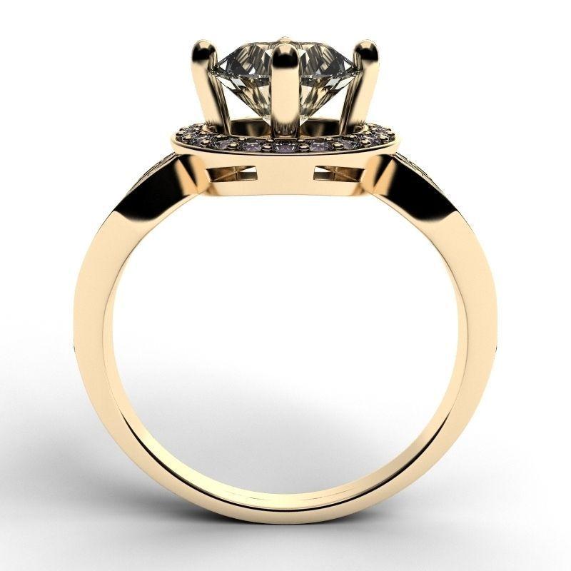 3D Golden Ring 3 | CGTrader