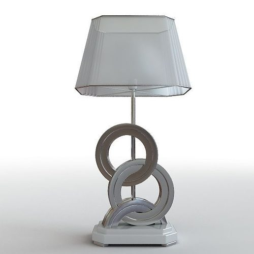 Modern table lamp 2 3d model cgtrader for Table lamp 3ds max