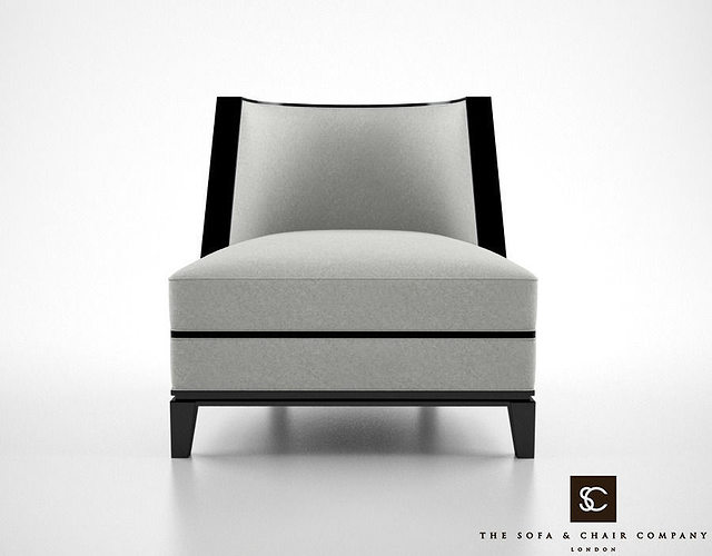 The Sofa And Chair Company Sloane Armchair 3D Model