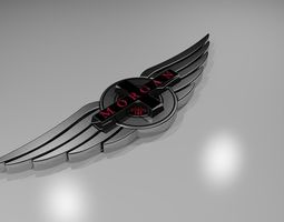 3D print model Morgan Cars Logo
