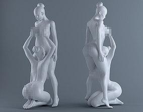 3D printable model Two sexy girl