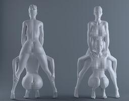 Sexy pose 3D print model