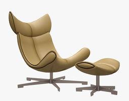 3d model imola armchair boconcept game-ready