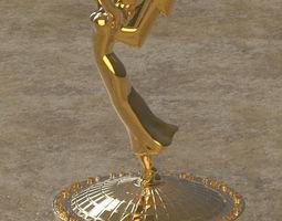 3dmagiks - hq emmy award trophy - stl for 3d printing