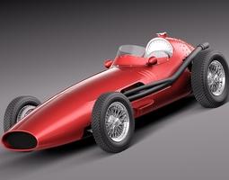 maserati 250f 1954-1960 grand prix 3d model max obj 3ds fbx c4d lwo lw lws
