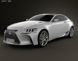 Lexus LF-CC 2012 3D