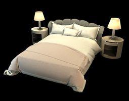 3d model noel jeffrey bedroom set