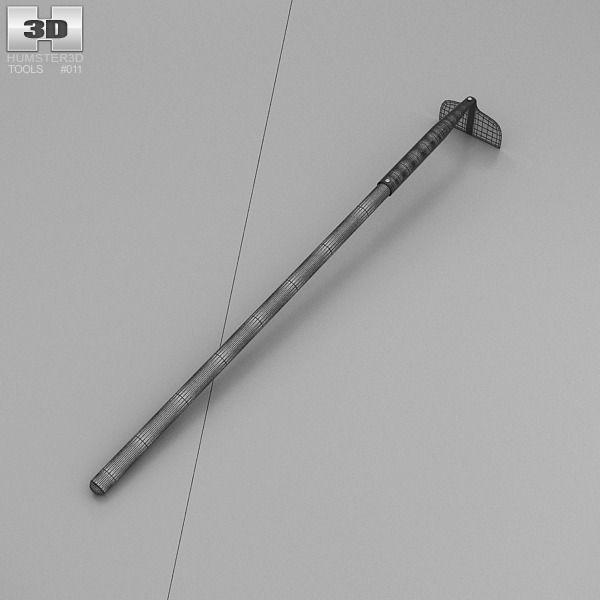 Hoe Tool 3d Model Max Obj 3ds Fbx C4d Lwo Lw Lws