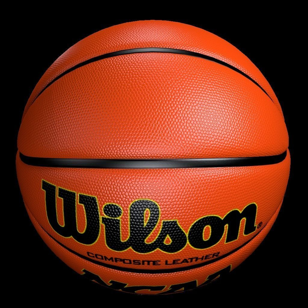 3D model Basketball Wilson VR AR low poly OBJ BLEND