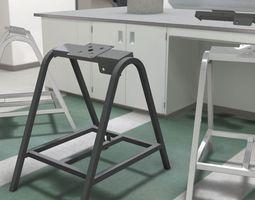 3d model industrial blender base