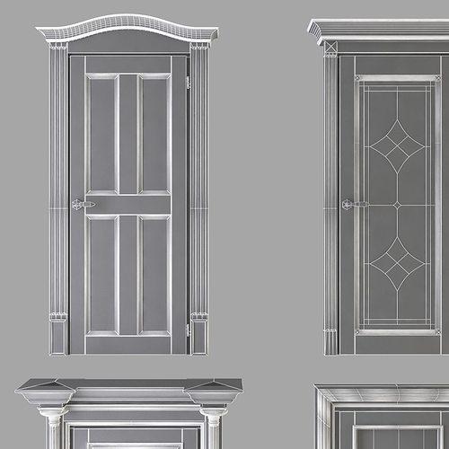classic doors collection 3d model max obj 3ds fbx mtl 19 & Classic Doors Collection 3D model   CGTrader