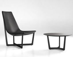 3D Porro Jade and Shahan armchair