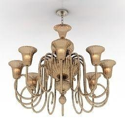 lamp 3d model 3ds 1