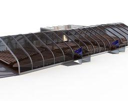 tent auditorium 3d model