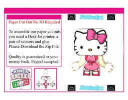 Hello Kitty But Cooler 3D asset