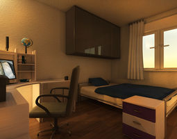 Mr Preview Bedroom 3D