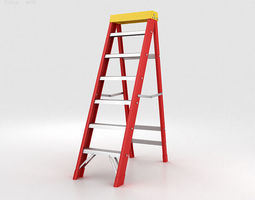 Stepladder 3D model