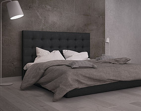 photorealistic Bed 3D