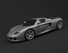 Car 3D Model fast