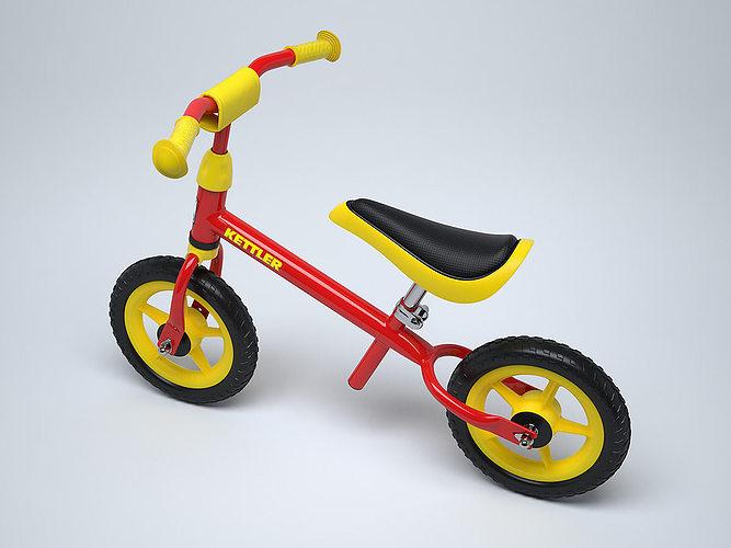 Childrens Bike Kettler Speedy 3d Cgtrader