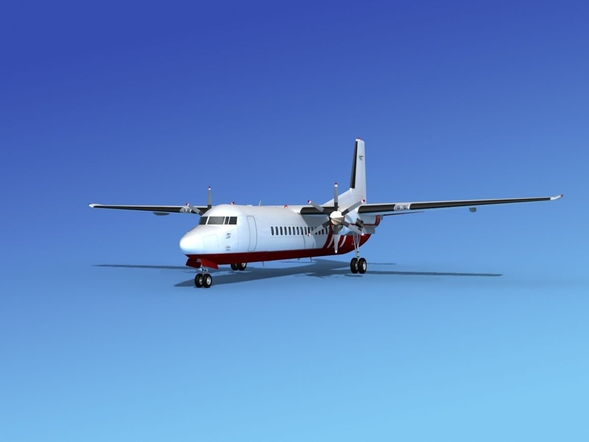Fokker 50 Corporate 3