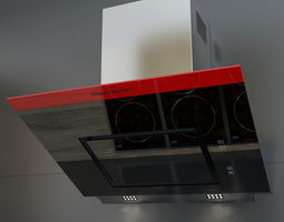 Kuppersbusch KD 7610 Kitchen Hood 3D model