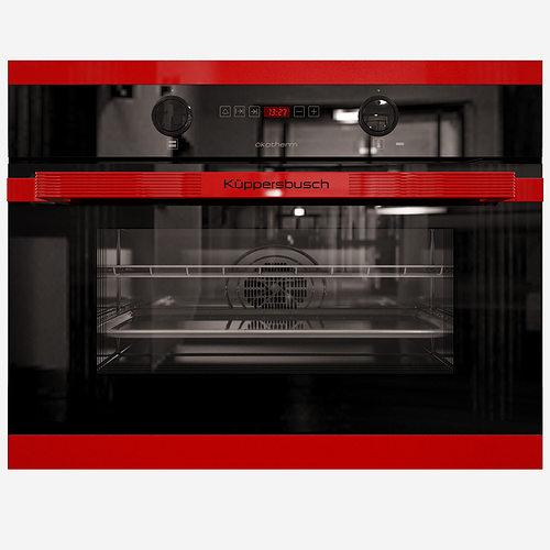 kuppersbusch eeb 6260 jxr compact oven 3d model cgtrader. Black Bedroom Furniture Sets. Home Design Ideas