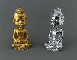 Little Budha 3D Model